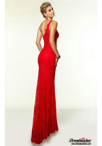 high-slit-lace-floor-length-black-one-shoulder-sheath-column-formal-dress-lcpa0136-b