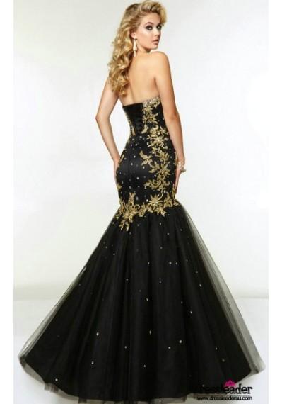 luxurious-tulle-floor-length-black-sweetheart-trumpet-mermaid-formal-dress-lcpa0119-b